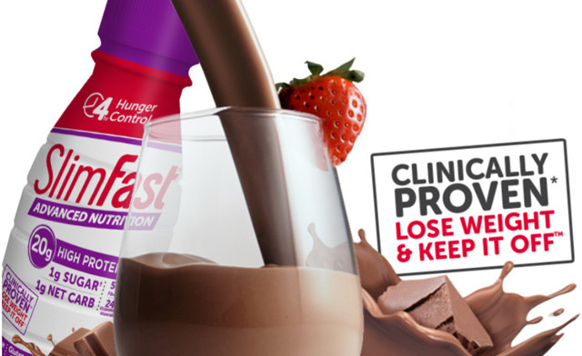$20 for 12 SlimFast Meal Replacement Shakes ($40 Value)