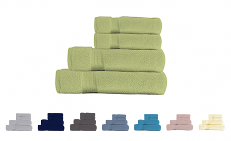 Click to view $22.79 for a 4-Piece 100% Organic Cotton or Bamboo Towel Set (a $70 Value)