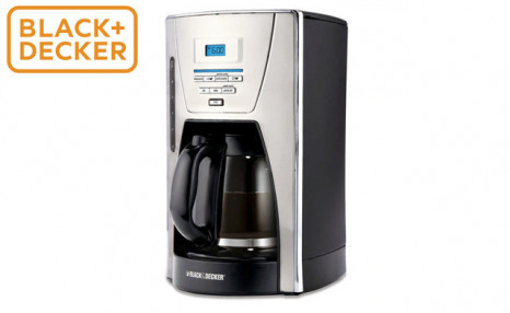 Click to view $39.99 for a Black + Decker 12-Cup Coffee Maker (a $129 Value)
