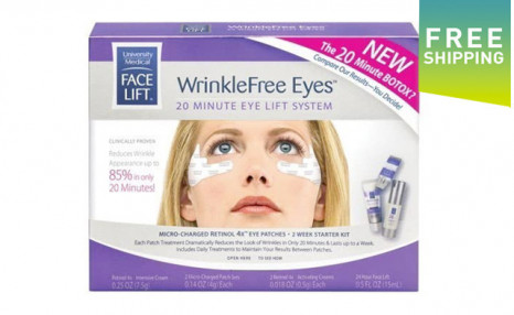 Click to view $19 for a University Medical 20 Minute Eye Lift System (a $33.75 Value)