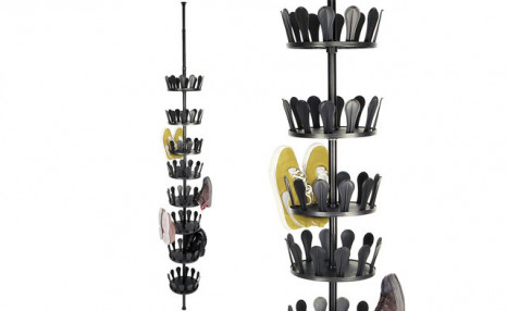 $32.90 for a 36-Pair Telescopic Shoe Rack (a $67.99 Value)
