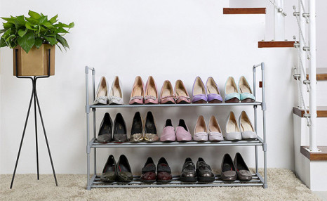 Up to 47% off a 3- or 6-Tiered Shoe Rack