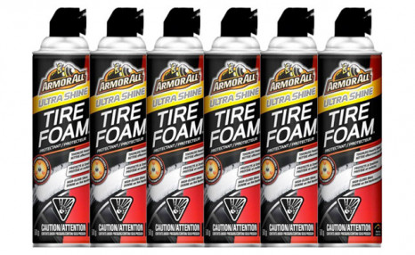 $29.95 for a 6-Pack of ArmorAll Tire Foam (a $59.99 Value)