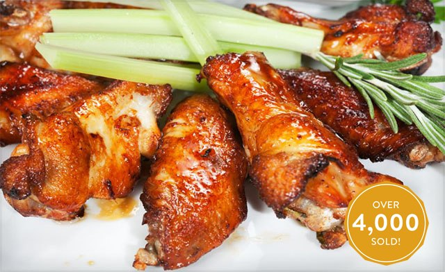 $35 for 10 lb of Bulk Packed Chicken Wings (a $60 Value)