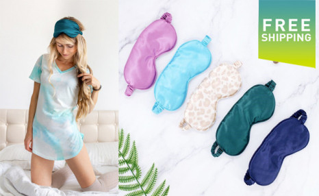$19.90 for a Satin Sleep Eye Mask (a $45 Value)