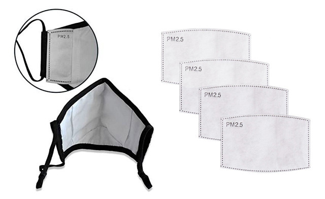 $16.22 & Up for Reusable Masks + Filters (Non-Medical Grade) - Shipping Included!