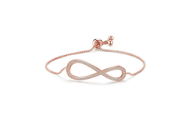 Click to view $15.08 for an Adjustable Infinity Bracelet (a $129 Value)
