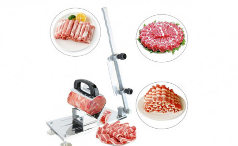 Click to view $26.90 for a Manual Frozen Meat Slicer (a $59 Value)