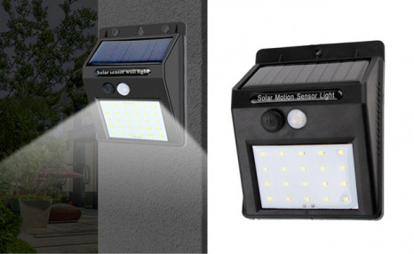 $35 for a 2-Pack of Solar Powered LED Wall Lights (a $68.99 Value)