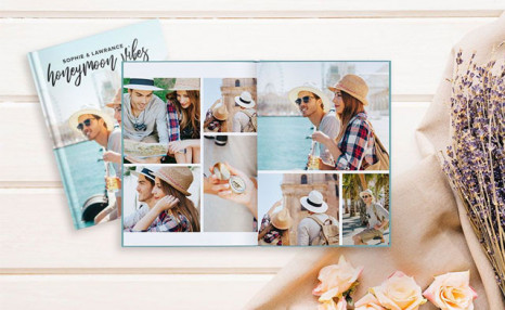 Up to 89% off Lay Flat Hardcover Photobooks from Photobook Canada