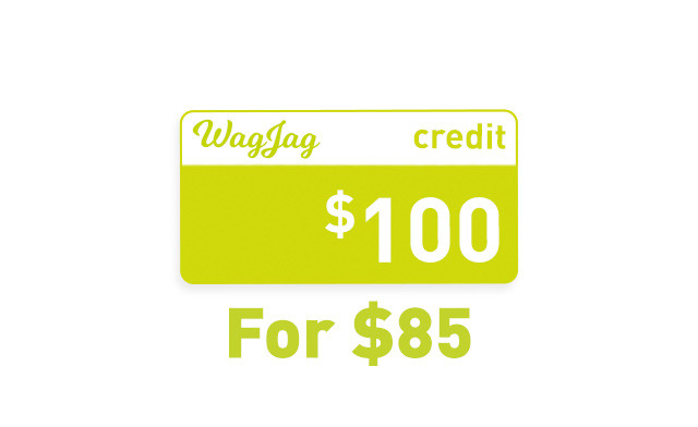 $50 or $100 in WagJag Credit