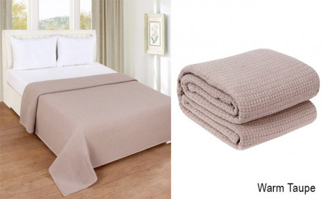 Click to view $36.95 for a Cotton Blanket (an $89 value)