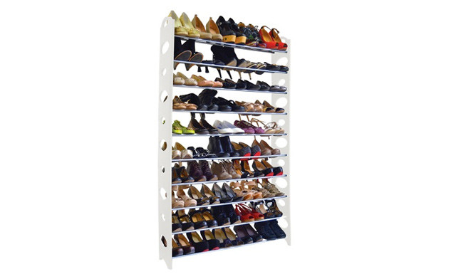 Up to 71% off a 10-, 20- or 50-Pair Shoe Rack