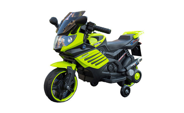Click to view $89.90 for a Kid's Ride On Electric Motorbike (a $199 Value)