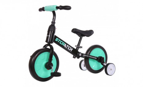 Click to view $59.90 for a Kid's 2-in-1 Bike with Training Wheels (a $99 Value)