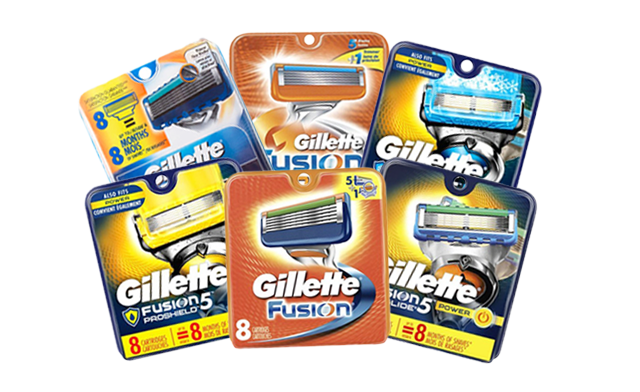 Click to view Up to 46% off Gillette Fusion Replacement Razor Blades