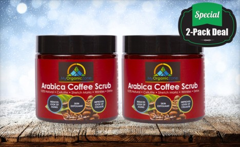 Click to view $39.99 for a 2 Pack of Arabica Coffee Scrub (a $59 Value)