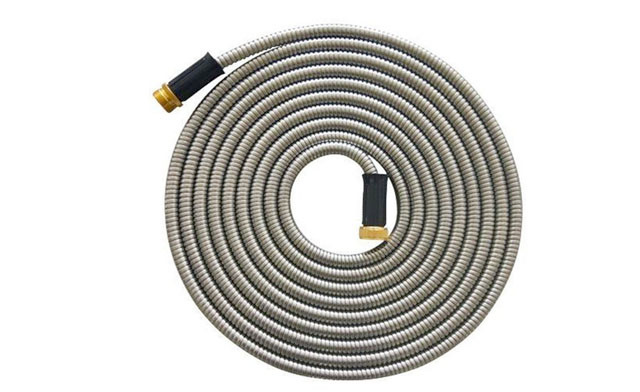 Click to view $30 for a 50' Stainless Steel Garden Hose (a $69 Value)