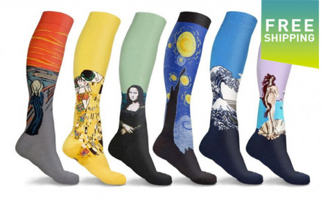 Click to view $29.99 for a 3-Pack of Compression Socks (a $44.95 Value)