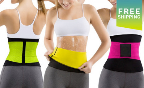 $29.99 for a Women's Waist Trimmer Belt (a $49.99 Value)
