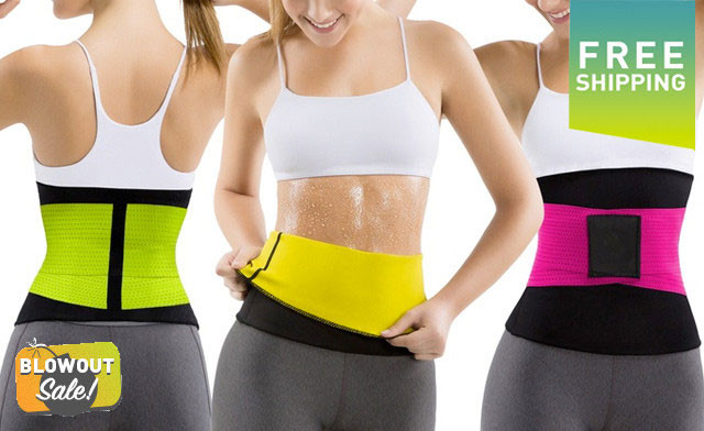 $26.90 for a Women's Waist Trimmer Belt (a $49.99 Value)