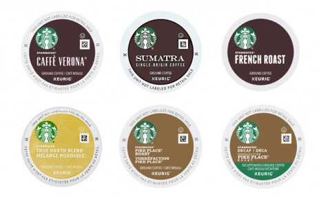 $79 for a 96-Pack of Starbucks K-Cups (a $109 Value)