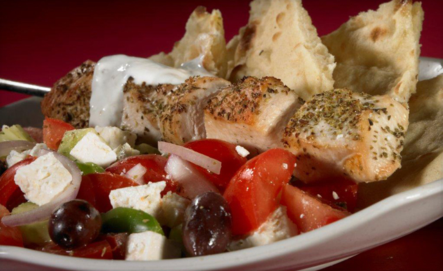 $49 for 5.5 lbs of Greek Chicken Souvlaki Skewers (an $80 Value)