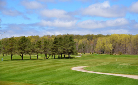 Click to view $66.67 for 18 Holes of Golf for 2 with a Cart (a $135.60 Value)