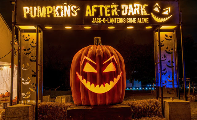 15% off Admission to Pumpkins After Dark -  Dates Available October 31st or November 1st, 2020