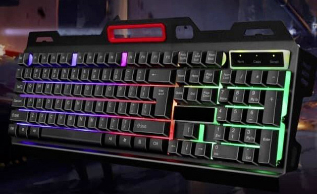 $19 for a CMK 198 LED Gaming Keyboard and Mouse Combo (a $39.99 Value)