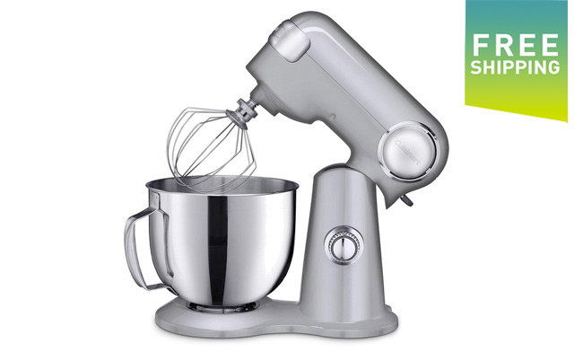 $179.99 for a Cuisinart 5.2L Stand Mixer - Refurbished