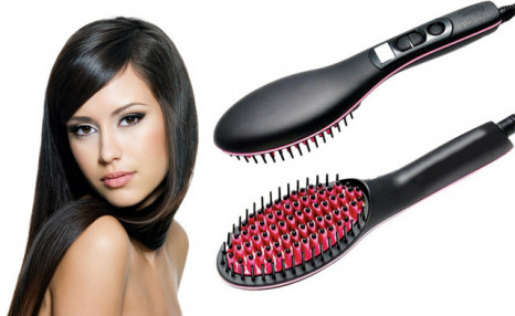 $22.90 for a Portable Hair Straightener Brush (a $49 Value)