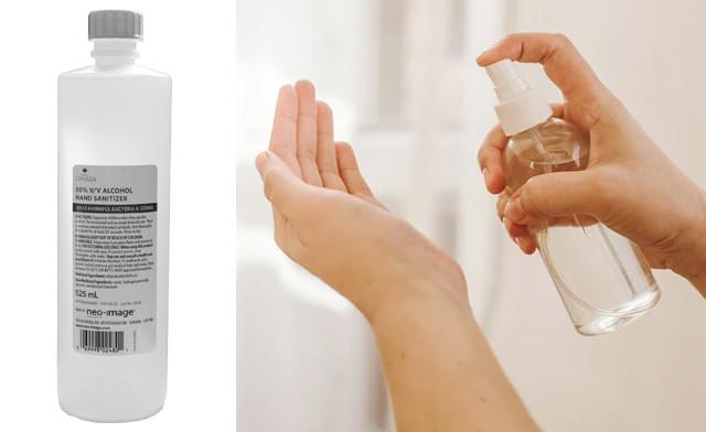 $17.99 & Up for Hand Sanitizer Liquid (525mL each)