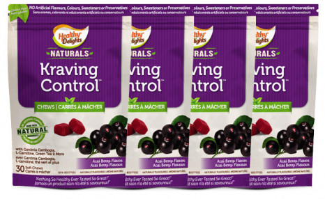 Up to 79% off Healthy Delights Kraving Control Soft Chews with Garcinia Cambogia, Green Coffee Bean and Green Tea Extract
