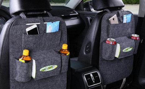 $24.90 for a Set of 2 Car Seat Organizers (a $49.99 Value)