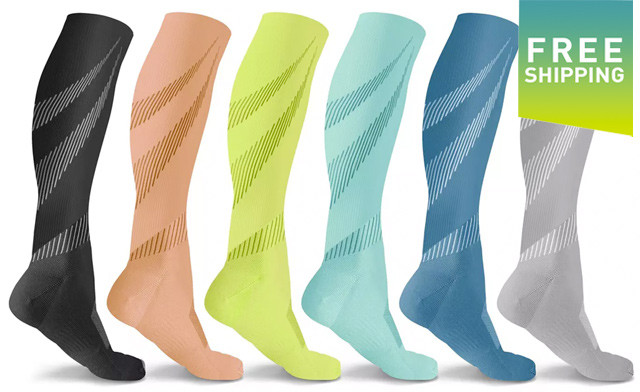 $29.90 for a 6-Pack of DCF Compression Socks (a $49 Value)
