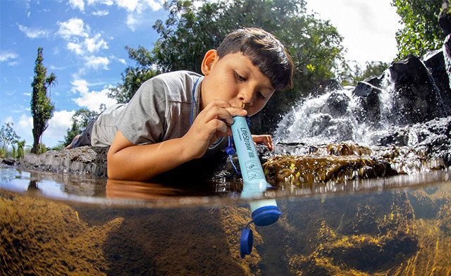 $24.99 for a LifeStraw Personal Water Filter (a $49 Value)
