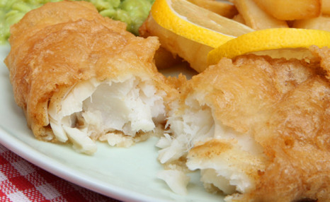 Click to view $49 for 5 lbs of Battered Halibut Fillets (a $90 Value)