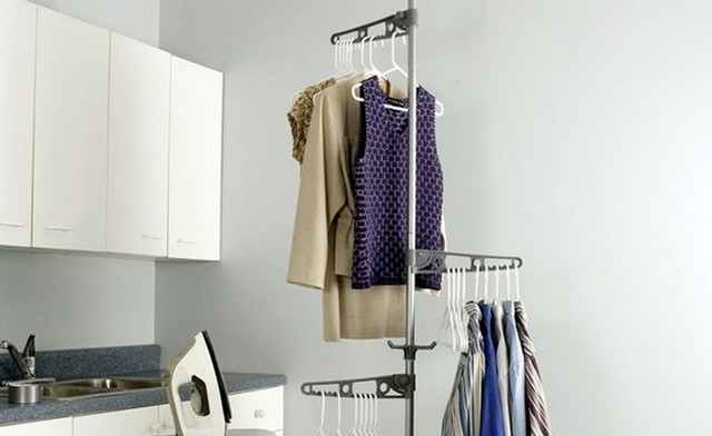 $23.90 for an Adjustable Corder Valet Rack (a $58.98 Value)