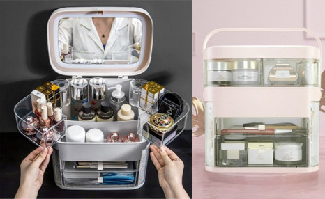 Click to view $49 for a Cosmetic Storage Box (an $89 Value)