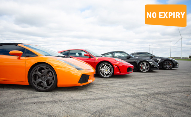 Up to 61% off Exotic Dream Car Experiences