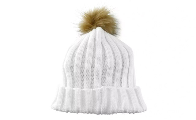 $19.95 for a Knit Winter Hat with PomPom (a $55 Value)