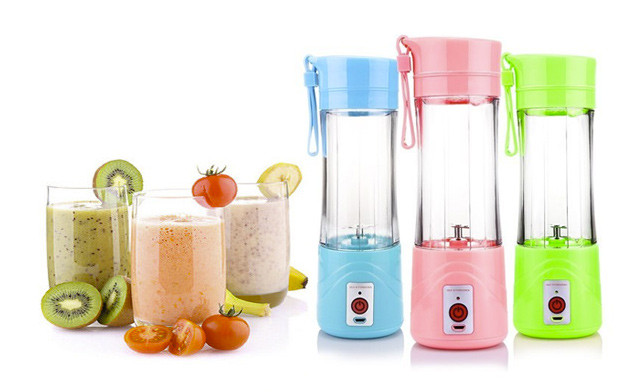 Click to view $21 for a Mini USB Blender Bottle (a $35 Value)