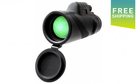 Click to view $29.95 for a Waterproof Monocular Telescope (a $52.99 Value)