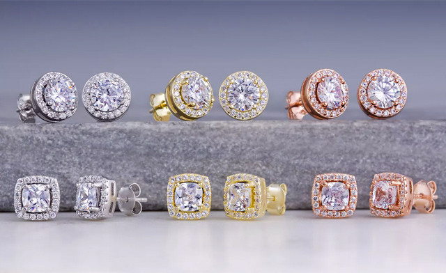 Click to view $21.95 for a Pair of Lesa Michele Studs (a $107.99 Value)