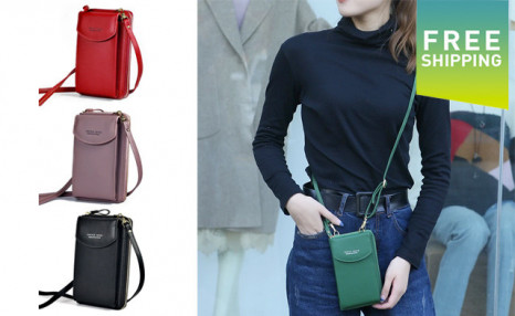 Click to view $23.95 for a Women's Crossbody Bag (a $65 Value)