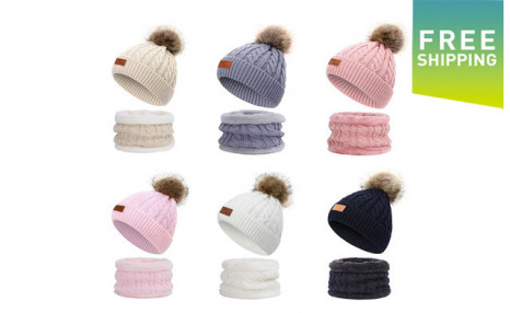 Click to view $21.99 for a Hat & Scarf Set (a $43 Value)