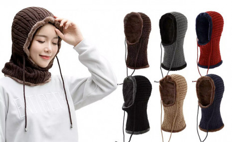Click to view $19 for a Head and Neck Winter Hat (a $52.99 Value)