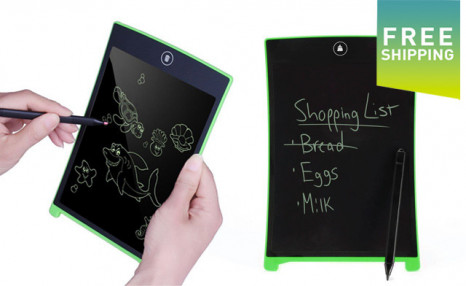 Click to view $21.95 for a 8.5-Inch Writing Tablet with Stylus (a $59.99 Value)