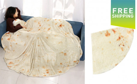 Click to view Up to 50% off a Burrito Blanket
